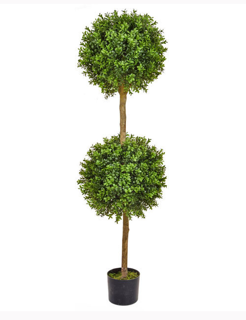 150cm Double Buxus Ball Tree