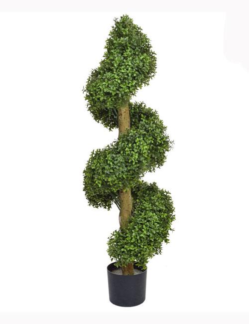 120cm Buxus Spiral Tree