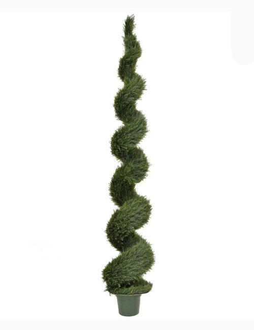 300cm Topiary Cedar Spiral UV